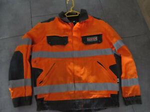 Strabag Litz Workwear Warnschutz Jacke Gr 54