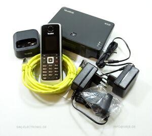 Yealink IP DECT Telefon W52P Handgerät inkl. Basisstation schwarz