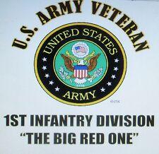 U.S. ARMY VETERAN EMBLEM NAME DROP U.S. ARMY MILITARY UNIT SHIRT