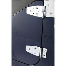 DOOR HINGE SET, ST /  CERNIERE PORTA acciaio inox -  Jeep Wrangler YJ  / Tj