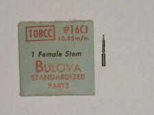 Bulova winding stem 10BCC 10BUC 11AB 11ABC Lg 11.0 tige remontoir Aufzugswelle