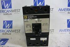 KAP36125 SQUARE D 125 amp 600 volt 3P Panel Mount Circuit Breaker- TESTED