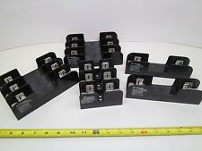 5pc LOT GOULD/SHAWMUT 3 and 1 POLE 600V 30A 60A FUSE HOLDER 60303 60608 60301 BD