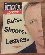 James Bond Daniel Craig Time Out magazine 2015
