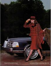 1983  Original PRINT AD 3-pg  for LINCOLN CONTINENTAL 1984 & GIVENCHY FURS