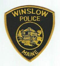 MAINE - Winslow Police patch