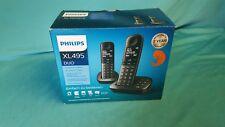 PHILIPS XL4952DS Schnurlostelefon mit Anrufbeantworter