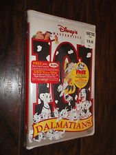 Disney 101 Dalmatians VHS Video Tape New Sealed Masterpiece Collection Dalmation