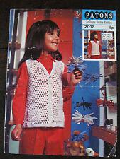 """Patons Crochet Pattern: Ragazze Gilet, DK, 22-26"""", 2018"""