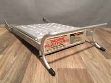 Little Giant Ladder Work Platform Model 10104 Aluminummetal Accessory Wing