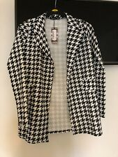 Boohoo,checkered black and white blazer, brand new with tags, size 10-14