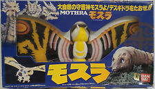 GODZILLA : PLASTIC / PVC MOTHRA FIGURE MADE BY BAN DAI IN 1996