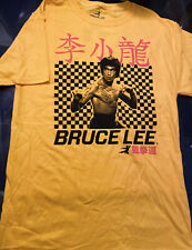 Bruce Lee 100% Cotton Mens T-Shirt Size Small New Without Tags