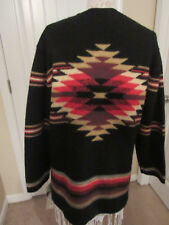 NWT$148 SUSAN BRISTOL AZTEC LONG KNIT SWEATER/CARDIGAN WOMEN'S SIZE M
