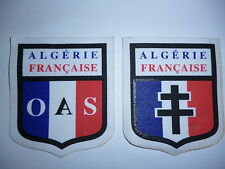 FRENCH OAS PRINTED PATCHES.