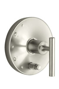 New Kohler T14501-4-BN Purist Valve Trim, Brushed Nickel Finish