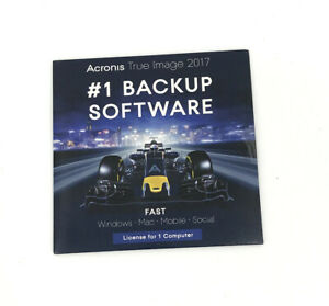 Acronis True Image 2017 for 1 Device #1 Backup Software ( Windows, Mac, Mobile)