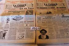 Le Canard Enchaîné  1981 année complète