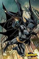 "BATMAN ACTION - CLASSIC DC COMICS COVER 36"" x 24"" 91 x 61 cm POSTER x"