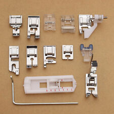 Kit 13x Piedino piede piedini piedi per macchine da cucire Husqvarna Viking