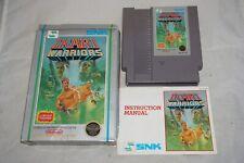 Ikari Warriors HANGTAB (Nintendo NES) Complete in Box FAIR