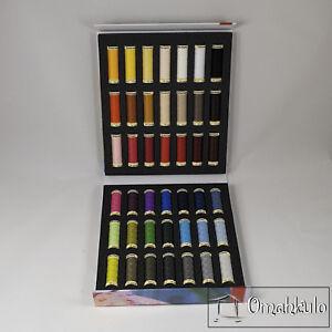 GUTERMANN - Sew-All Thread Album - 42 Spools x 100m - 100% Polyester