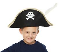 Dress Up America Kids Foldable Pirate Hat - Costume Accessory for Children