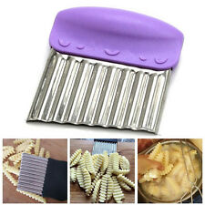 French Fries Wavy Edged Cutter Stainless Steel Vegetable Potato Chips Peeler CN