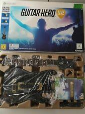 Xbox360 Spiel Guitar Hero Live Gitarren Set + Spiel Neu OVP Kultspiel