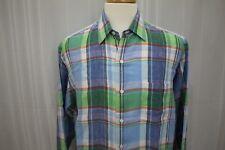 Polo Ralph Lauren Men's Long Sleeve Linen Button Down Shirt Size L