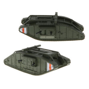 1:100th British MK.IV Male Female Tank   Vehicle Model Toy Soldiers