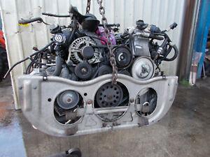2002 PORSCHE 911 996 3.6 TURBO TIPTRONIC COMPLETE ENGINE