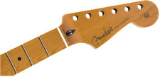 "Genuine Fender Roasted Maple Stratocaster Neck 12"" Maple Flat Oval 099-0402-920"