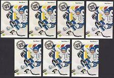 Lot of 7 1992-93 Upper Deck #617 Saku Koivu RC Montreal Canadiens hockey cards