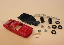 TT voiture 1/43 kit collector FORD MUSTANG Shelby Heco miniatures resine rouge