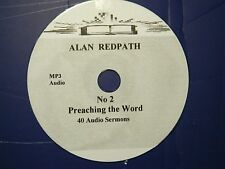 ALAN REDPATH, no. 2,   1 CD of 40 Sermons MP3