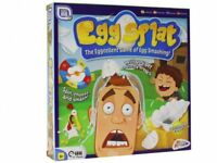 Grafix Egg Splat 4 Player Childrens Kids Family Fun Egg Smashing Game New Gift