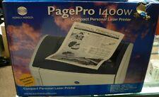 OEM NEW Konica Minolta Page Pro 1400W Compact Personal Laser Printer 1200x600dpi