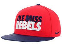 Mississippi Ole Miss Rebels Nike NCAA Men's Adjustable Snapback Cap Hat