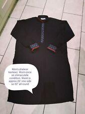 Mens Black  Kurta Pajama Salwar Kameez