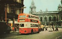 Postcard Double Decker Bus Belfast Ireland