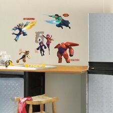 RoomMates Disney's Big Hero 6 Wall Stickers, Boy's Bedroom Big Hero Wall Decals