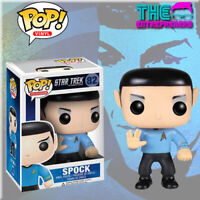 Funko POP Star Trek: Spock Vaulted Retired USA SAME DAY SHIPPING +FREE BONUS!