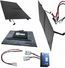 Monocrystalline 100W folding solar panel Kit  cables bag Lightweight