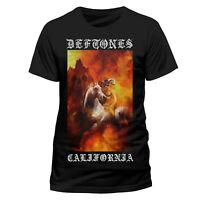 Deftones California Shirt S M L XL XXL Metal Rock Band Tshirt Official T-Shirt