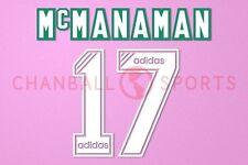 McManaman #17 1994-1995 Liverpool Homekit Nameset Printing