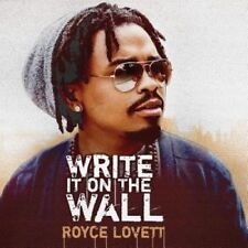 Write It on the Wall [Digipak] by Royce Lovett. New and Sealed
