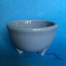 Homer Laughlin Fiesta PERIWINKLE Tripod Bowl Never Used