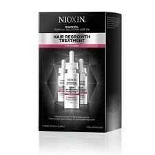 Nioxin 2% Minoxidil Hair Regrowth Treatment for Women 90 Day Supply 3 bottles