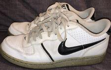 Vintage Nike Air Zoom Infiltrator Basketball Sneakers Men's US 10  White Black
